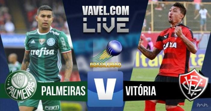 Resultado Palmeiras x Vitória no Campeonato Brasileiro 2016 (2-1)