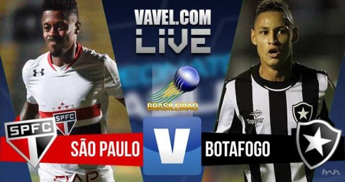 Resultado São Paulo 0x1 Botafogo no Campeonato Brasileiro 2016