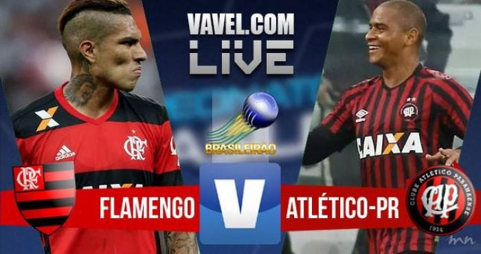Flamengo x Atlético-PR hoje (1-0)