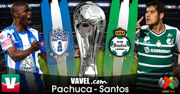 Resultado Pachuca - Santos Laguna en Liguilla Liga MX 2014 (2-0)