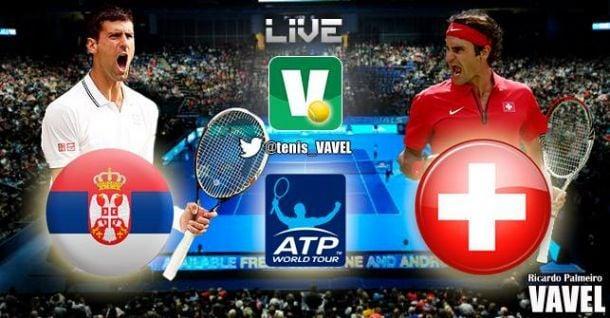 2014 ATP World Tour Finals:Djokovic - Federer Live Tennis Score