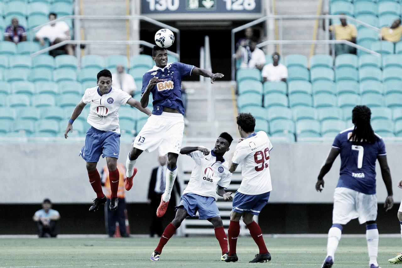 Com saldo positivo na temporada, Bahia e Cruzeiro se enfrentam na última rodada do Brasileirão