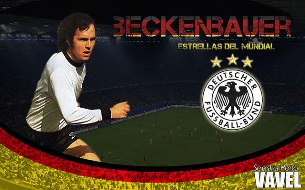 Estrellas de los Mundiales: Franz Beckenbauer