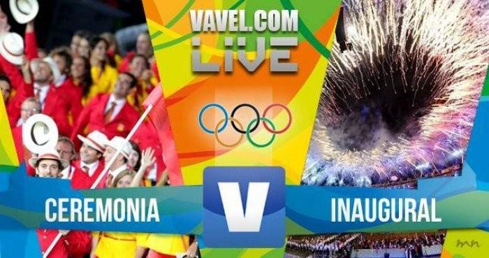 Live Rio 2016 - La cerimonia d'apertura in diretta