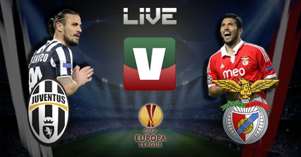 Juventus x Benfica, Liga Europa