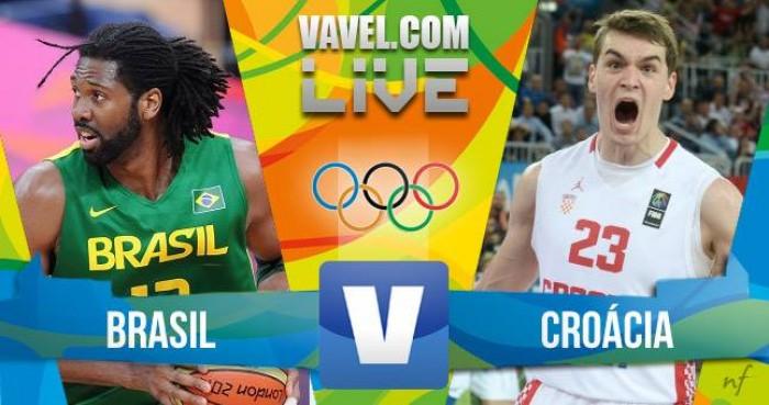 Resultado Brasil x Croácia no basquete masculino dos Jogos Olímpicos ( 76-80)