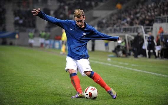 Antoine Griezmann se exhibe con la selección francesa Sub-21