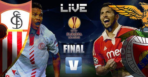Benfica x Sevilha, Liga Europa