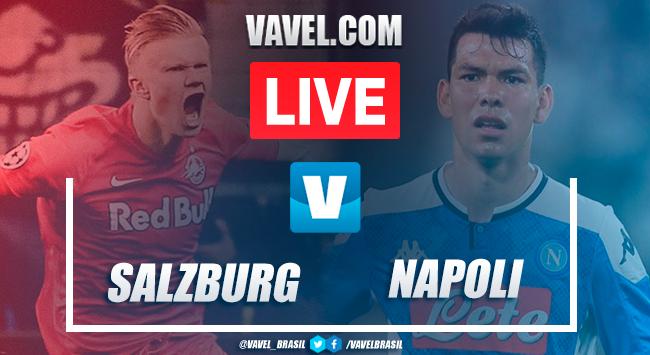 Gols e melhores momentos RB Salzburg 2x3 Napoli pela Champions League