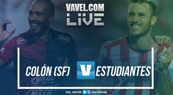 Colón vs Estudiantes en vivo online por Superliga Argentina 2017