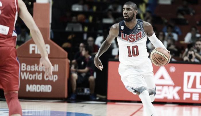 Kyrie Irving aceita convite e confirma participação nos Jogos Olímpicos do Rio