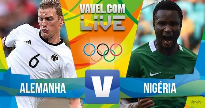 Alemanha vence a Nigéria no futebol masculino dos Jogos Olímpicos (2-0)