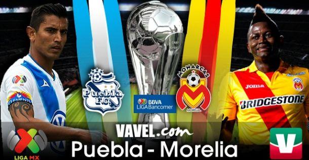 Resultado Puebla - Monarcas en Liga MX 2014 (3-1)