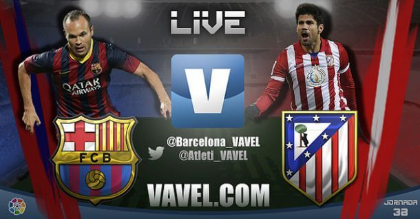 Live Atletico Madrid - Barcellona in Liga