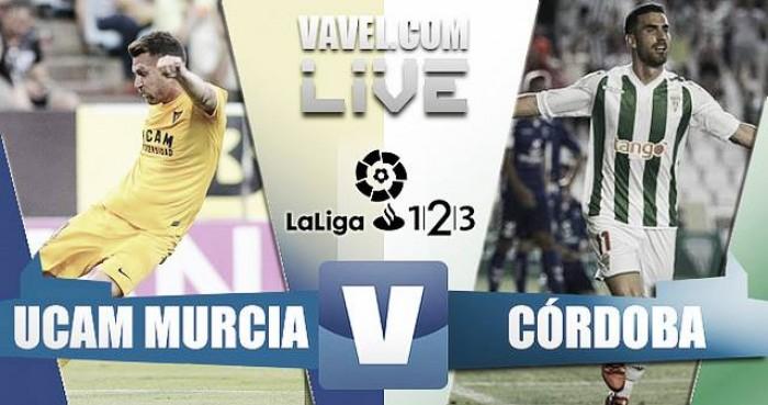 Resultado UCAM Murcia vs Córdoba CF en Segunda División (1-1)