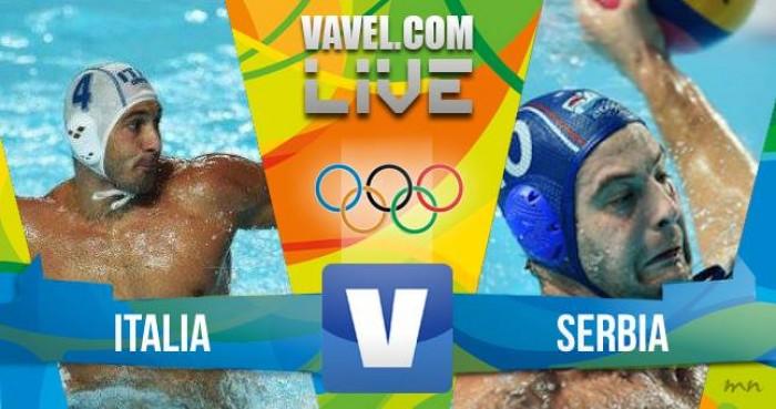 Risultato Italia 8-10 Serbia in semifinali Pallanuoto maschile Rio 2016