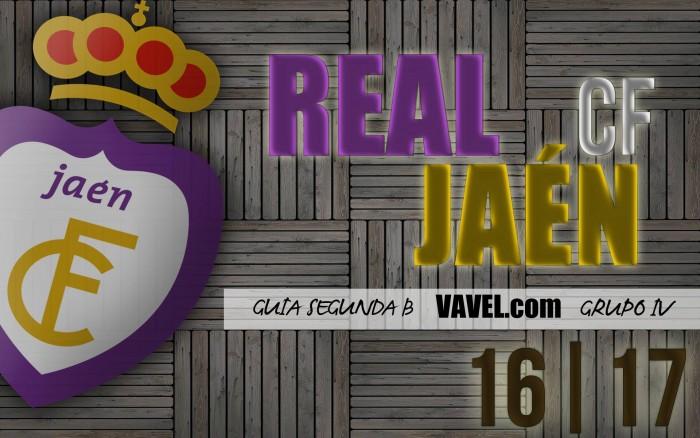 Guía VAVEL Real Jaén CF 2016/17