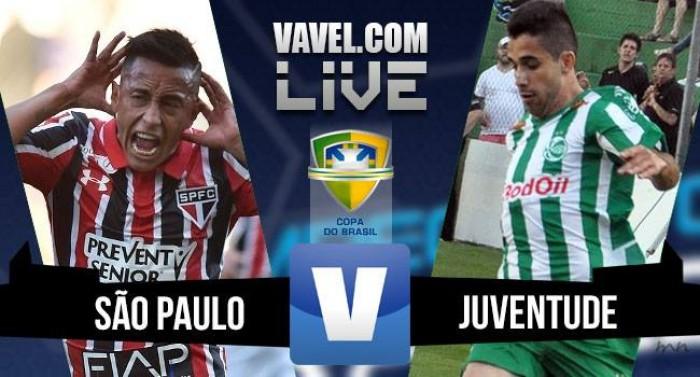 Resultado São Paulo x Juventude pela Copa do Brasil 2016 (1-2)