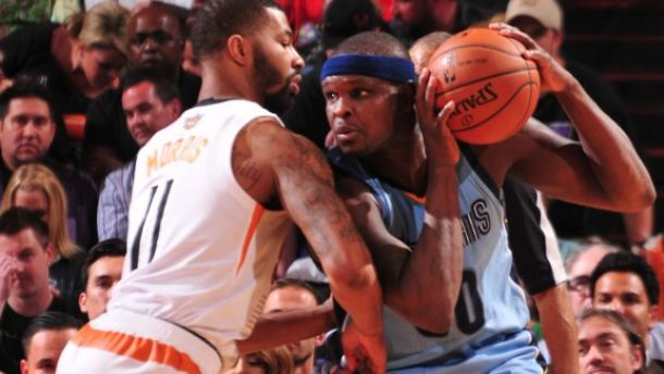 Zach Randolph mete a los Grizzlies en Playoffs