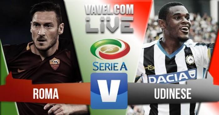 Risultato Roma 4-0 Udinese in prima giornata di Serie A 2016/17: Secondo tempo, Salah fa poker
