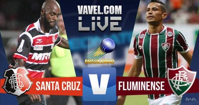 Resultado Santa Cruz x Fluminense pelo Brasileirão 2016 (0-1)
