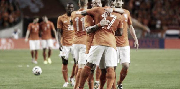 Holanda vence País de Gales no último amistoso preparatório para a Copa do Mundo