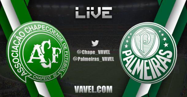Campeonato Brasileiro  Chapecoense x Palmeiras e - VAVEL.com eff7a07570c70