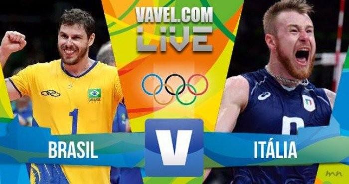 Diretta Rio 2016 in Finale Pallavolo Maschile: Italia-Brasile 3-0, troppo forti loro ma solo applausi per i nostri colori! Grazie ragazzi!