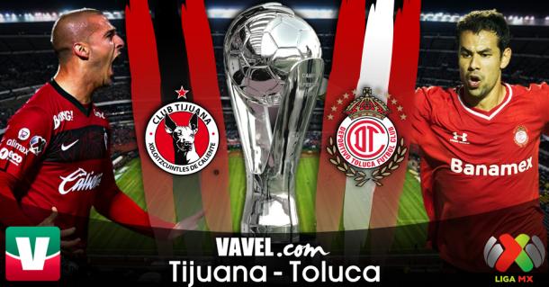 Resultado Xolos de Tijuana - Toluca en Liguilla Liga MX 2014 (0-0)