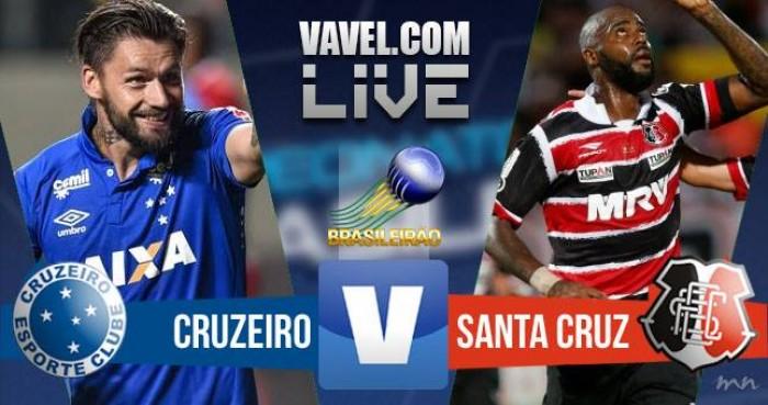 Resultado Cruzeiro x Santa Cruz pelo Campeonato Brasileiro 2016 (2-0)