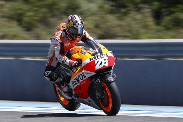 Jerez, Dani Pedrosa è il più rapido nel terzo turno di libere