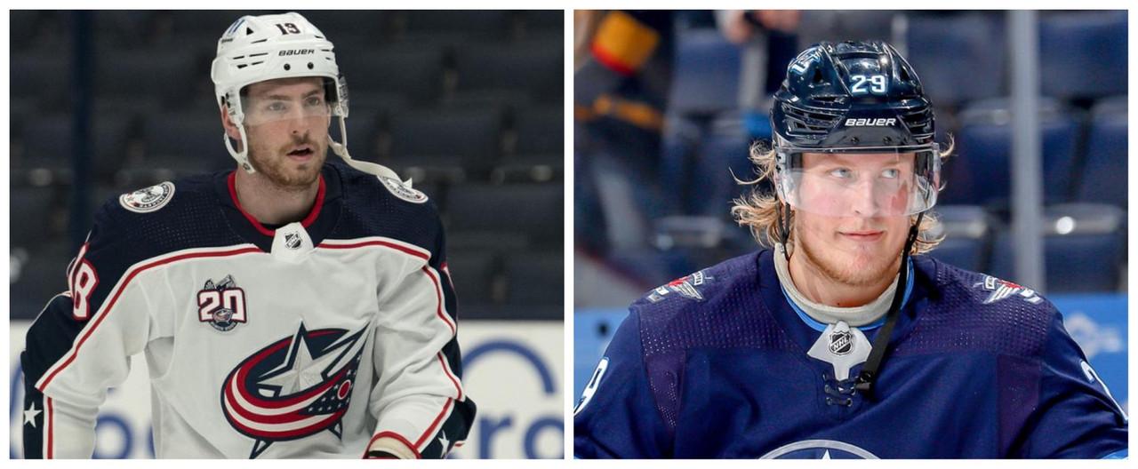 Laine y Dubois en nuevas tierras, lograran mejorar su rendimiento - NHL.com