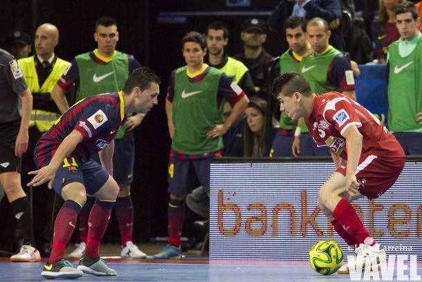 El Barça salva un punto al final frente a ElPozo Murcia
