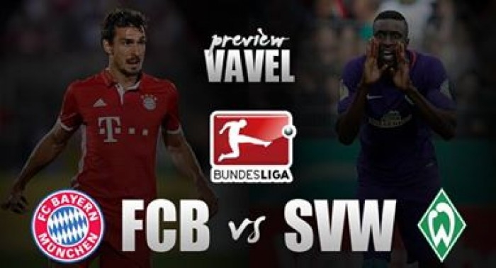 Bayern Munich vs Werder Bremen Preview: Champions begin pursuit of another league title