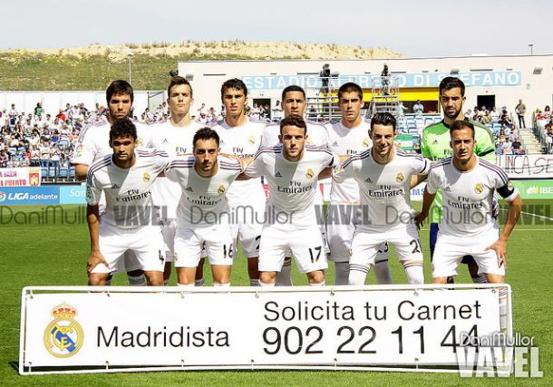 Real Madrid Castilla - Jaén: puntuaciones del Real Madrid Castilla, jornada 37
