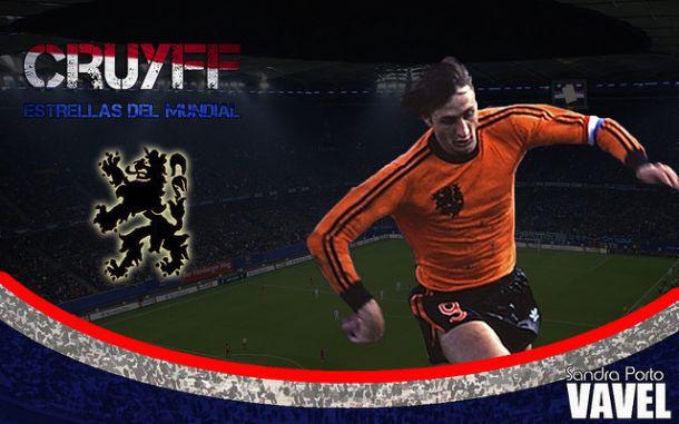 Estrellas de los Mundiales: Johan Cruyff