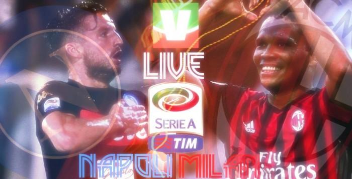 Risultato finale Napoli - Milan, 2° giornata Serie A 2016-2017  (4-2): Il Napoli vince davanti al suo pubblico. Il Milan finisce in 9 uomini
