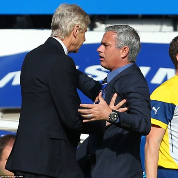 Wenger is unapologetic after Mourinho confrontation