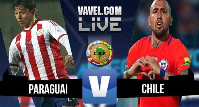 Paraguai vence o Chile pelas Eliminatórias para a Copa (2-1)