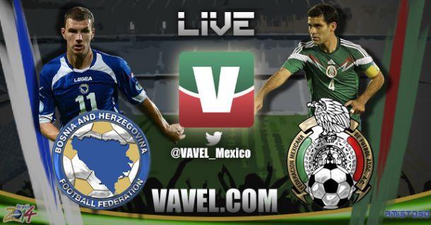 Resultado México 0-1 Bosnia en amistoso 2014