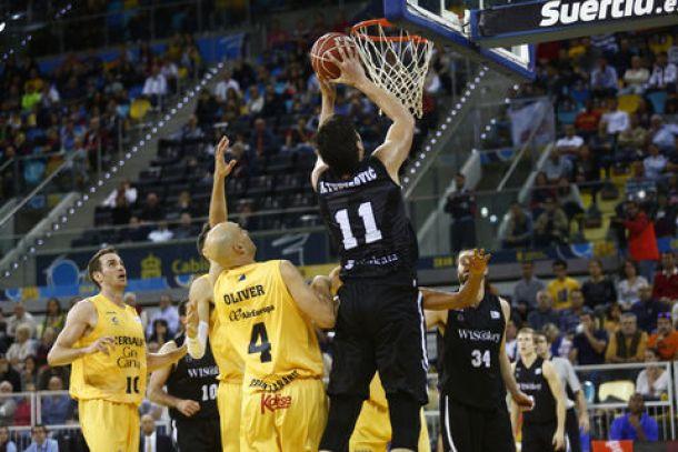 Bilbao Basket rompe su maleficio en Gran Canaria
