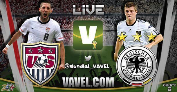 Live USA - Germania, Mondiali 2014 in Diretta