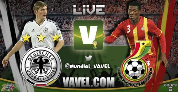 Alemanha x Gana