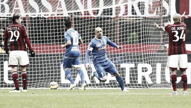 Destro non basta: il Milan sbatte anche sull'Empoli