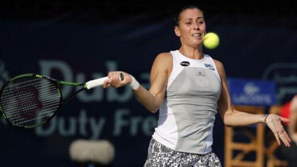 WTA Dubai: Pennetta batte Kerber ed è ai quarti