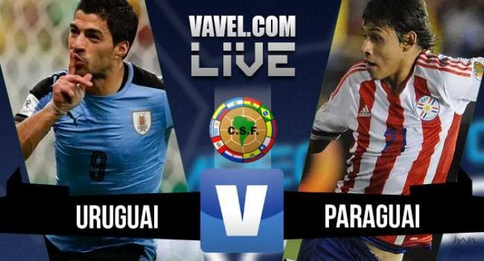 Resultado Uruguai x Paraguai pelas Eliminatórias (4-0)