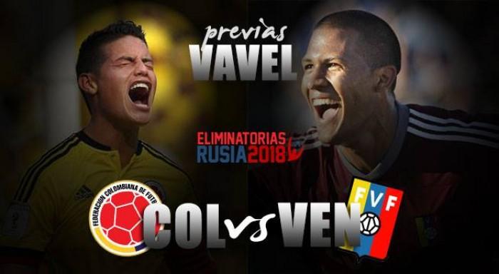 Previa Colombia - Venezuela: los 'cafeteros' buscan la cima de la tabla en las eliminatorias