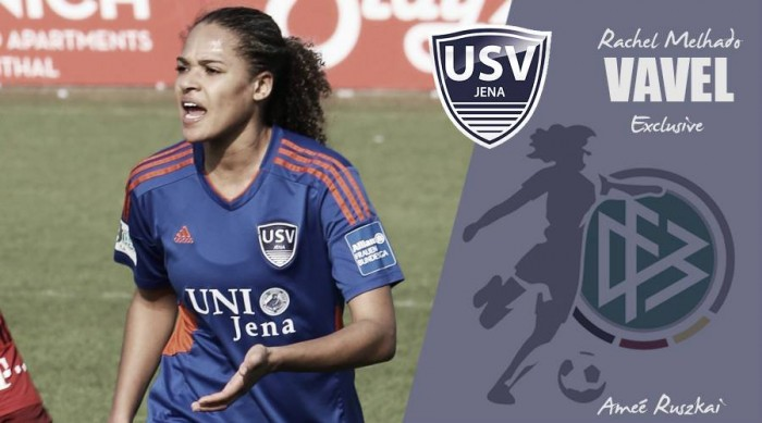USV Jena after another solid Frauen-Bundesliga season, Rachel Melhado tells VAVEL UK