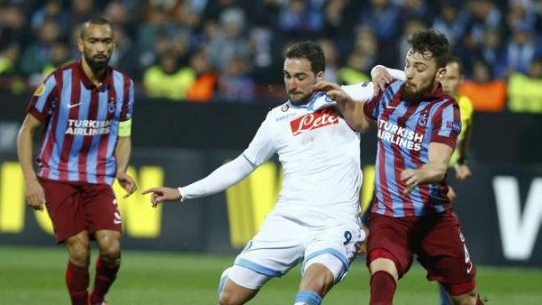 Europa league, le probabili formazioni di Napoli -Trabzonspor