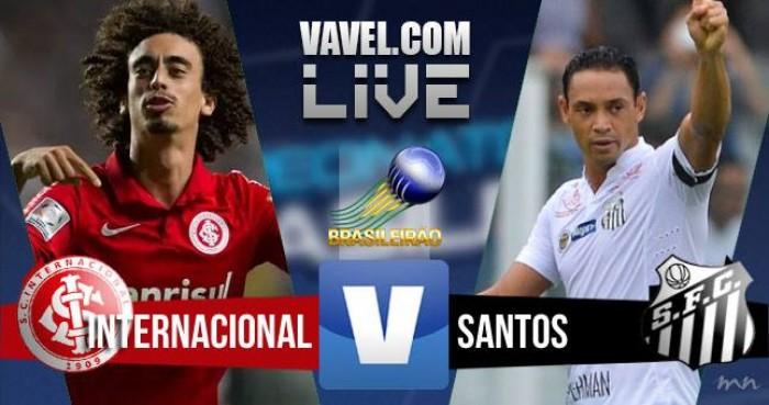 Inter vence o Santos pelo Campeonato Brasileiro (2-1)